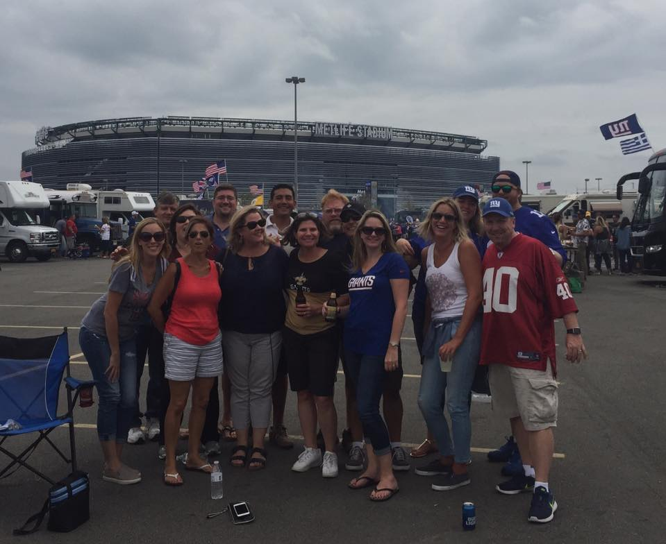 giants tailgating football