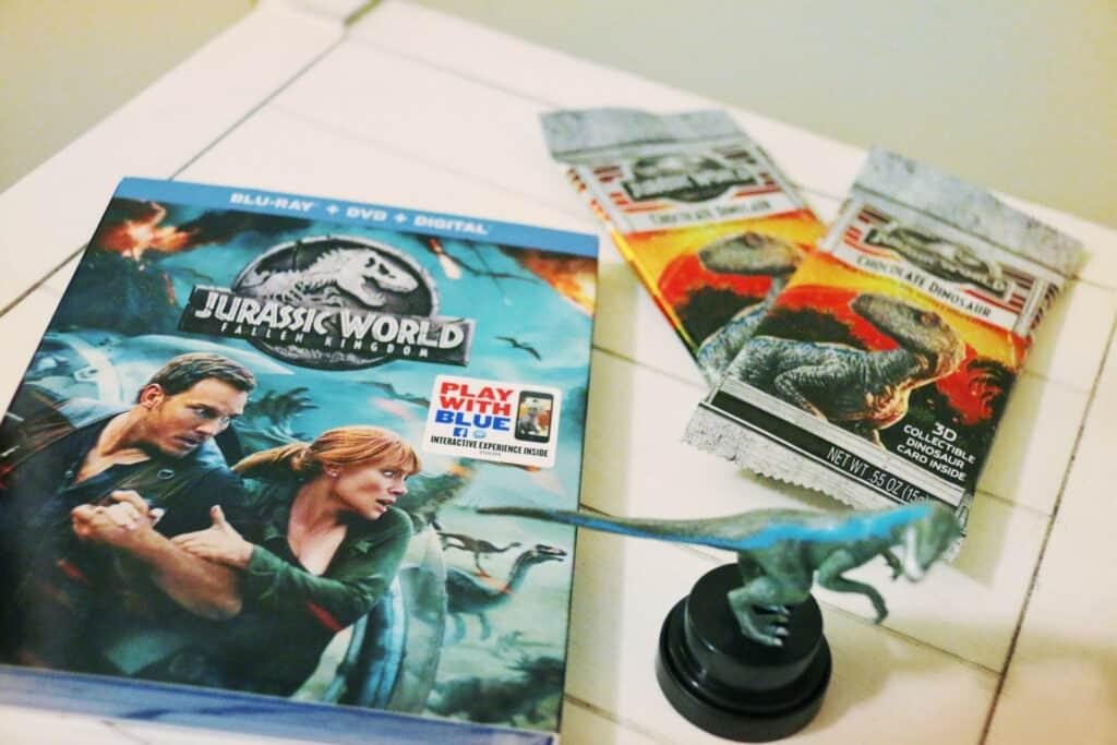 jurassic park fallen kingdom dvd blu ray