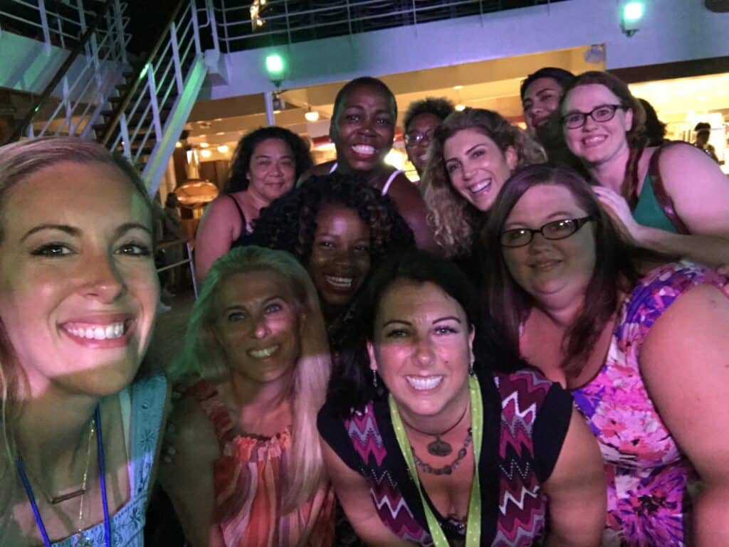 permission to hustle retreat carnival cruise attendees 2018