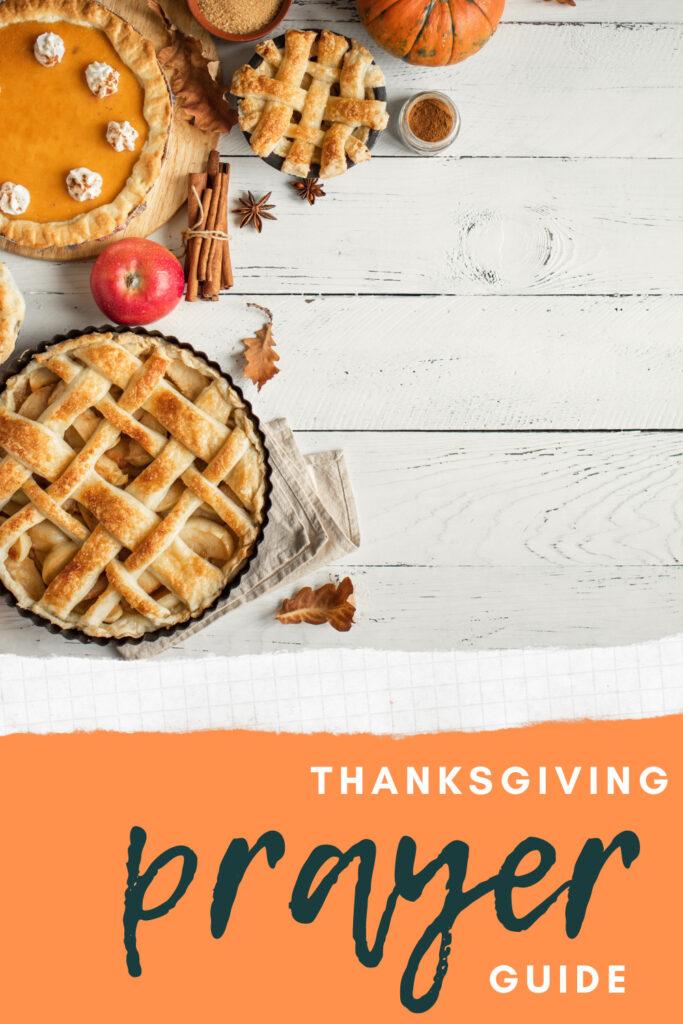 thanksgiving prayer guide