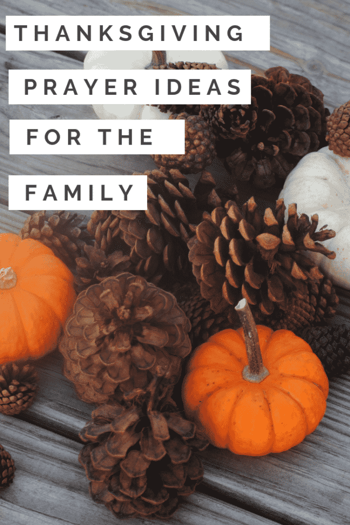 Thanksgiving Prayer Ideas For The Family