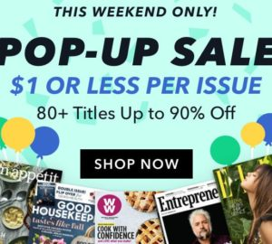 Huge Magazine Sale