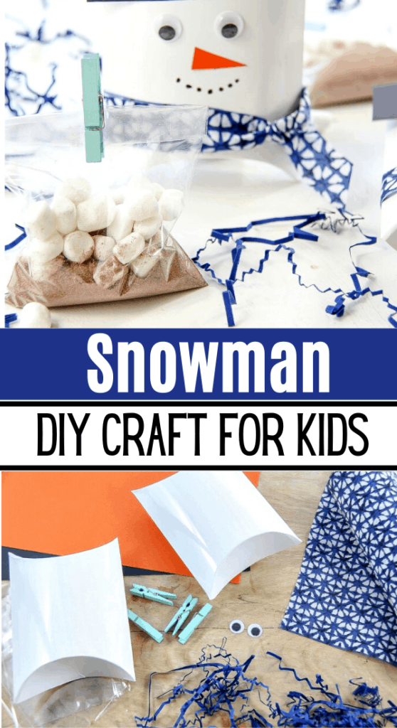 Snowman Diy Craft
