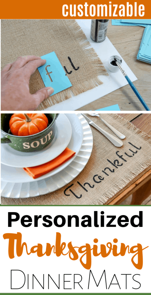 personalized tablemats