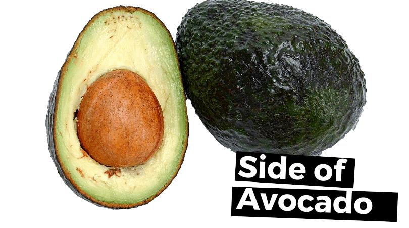 avocado side