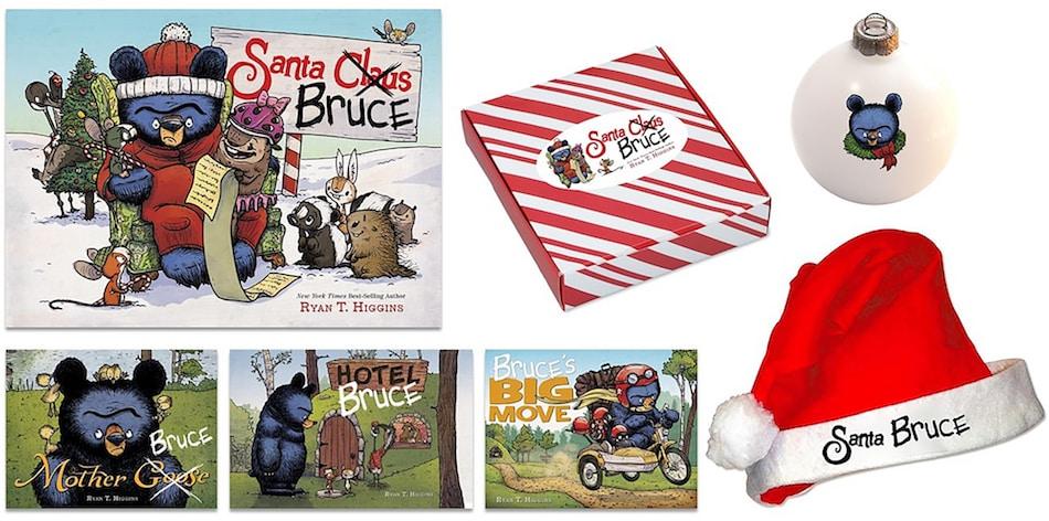 Santa Bruce _Celebrate with Santa Bruce