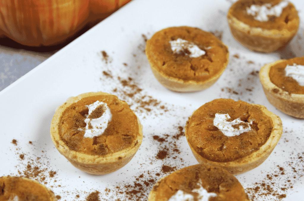 Pumpkin Pie Bites Dessert