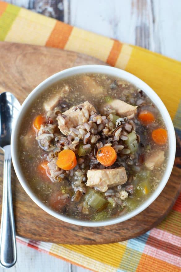 Crockpot Chicken And Rice Recipe - Easy Chicken Crockpot Recipe