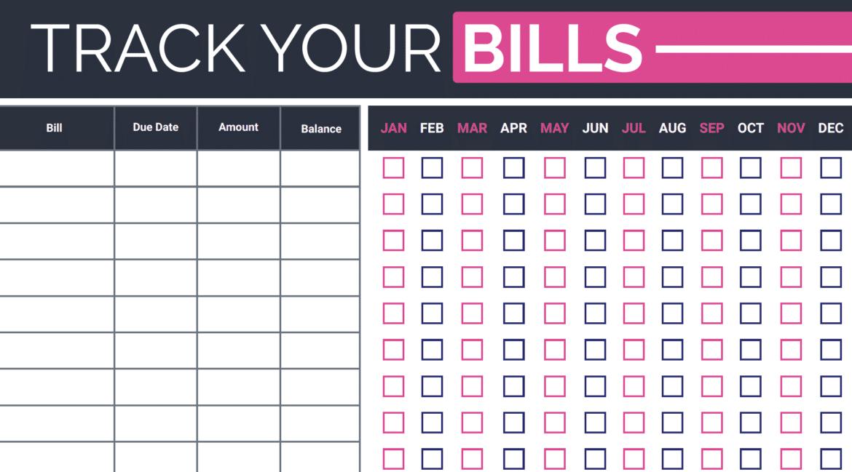 track your bills