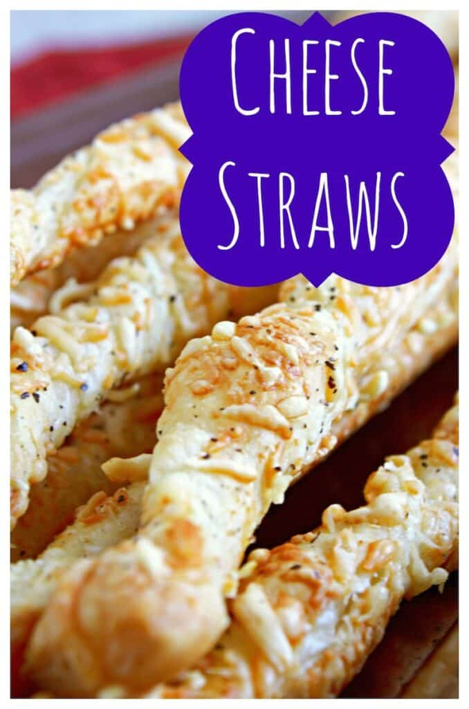 Cheese Straws Appetizer