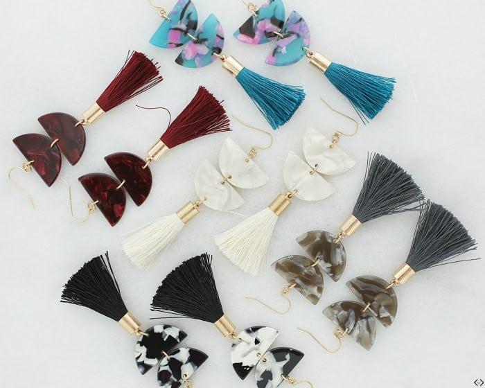 Fringe earrings - variety of styles