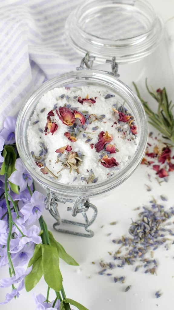 DIY Irish Bath Salts