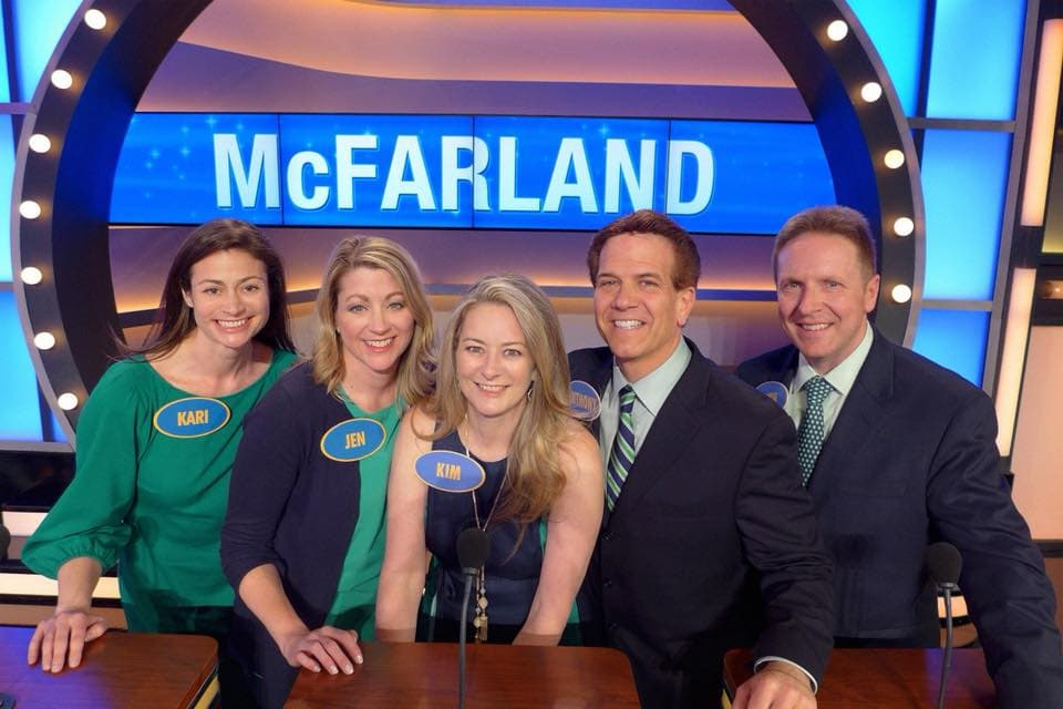 Family Feud Winning Family
