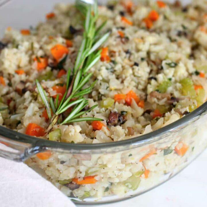 Keto Cauliflower Stuffing Recipe