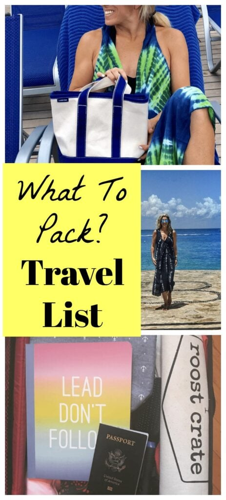 What To Pack? Travel Essentials List