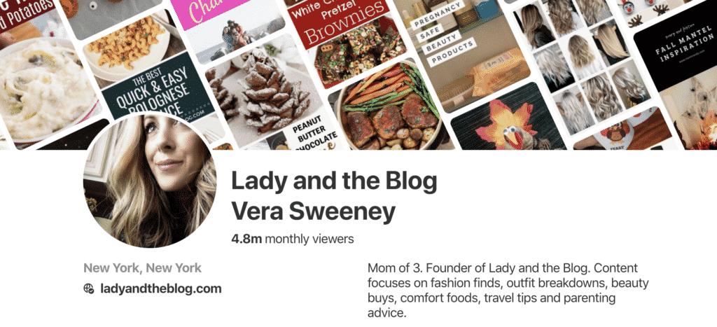 Pinterest Vera Sweeney