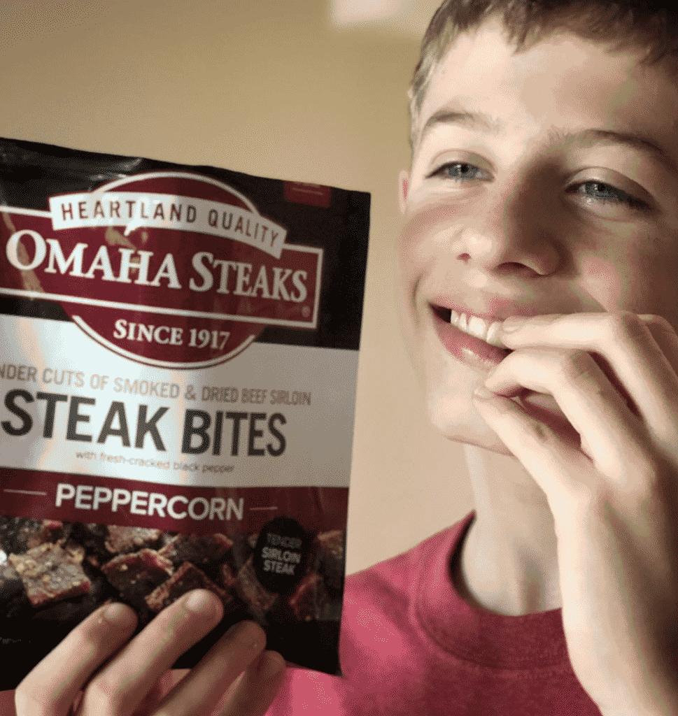 Omaha Steak Steak Bites teen
