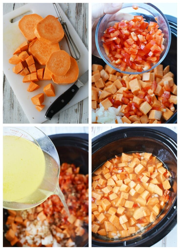 Slow Cooker Sweet Potato Stew Recipe