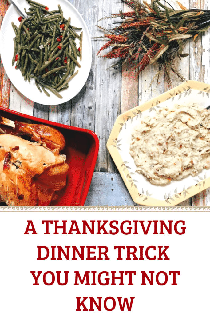 A Thanksgiving Dinner Trick You Might Not Know