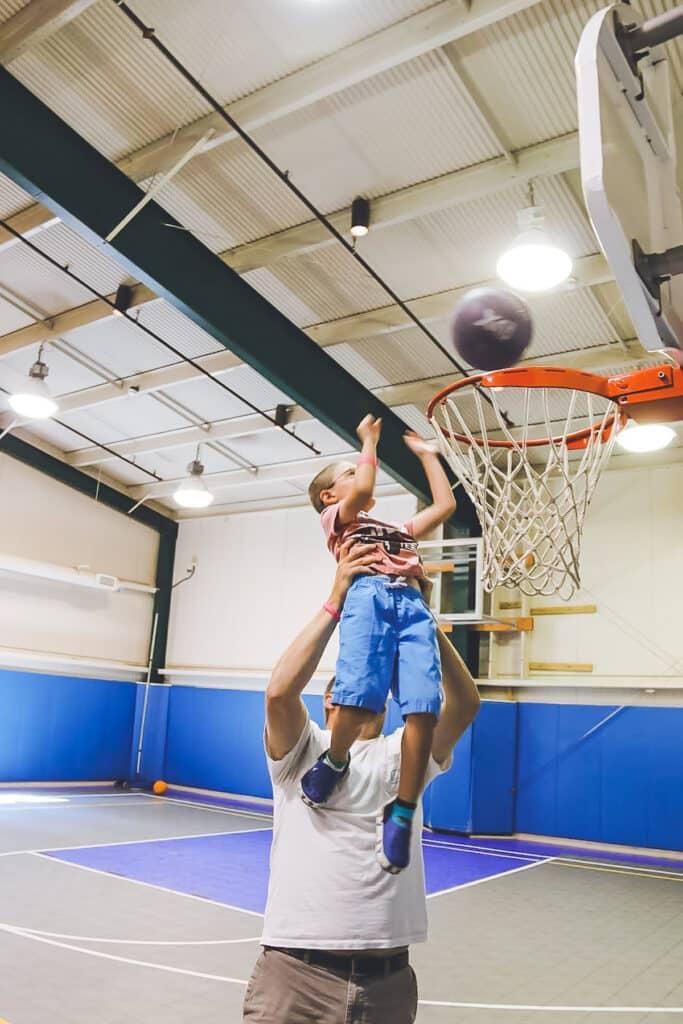 Woodloch Resort Basketball Court
