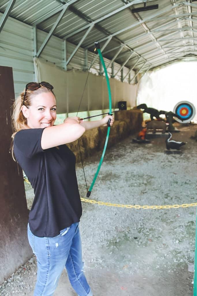 Woodloch Pines Archery Range