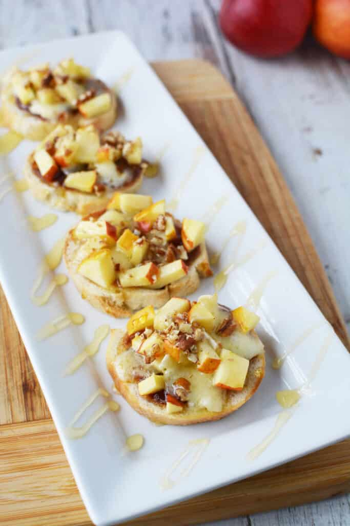 Honey Apple Pecan Crostini Recipe - The Perfect Appetizer