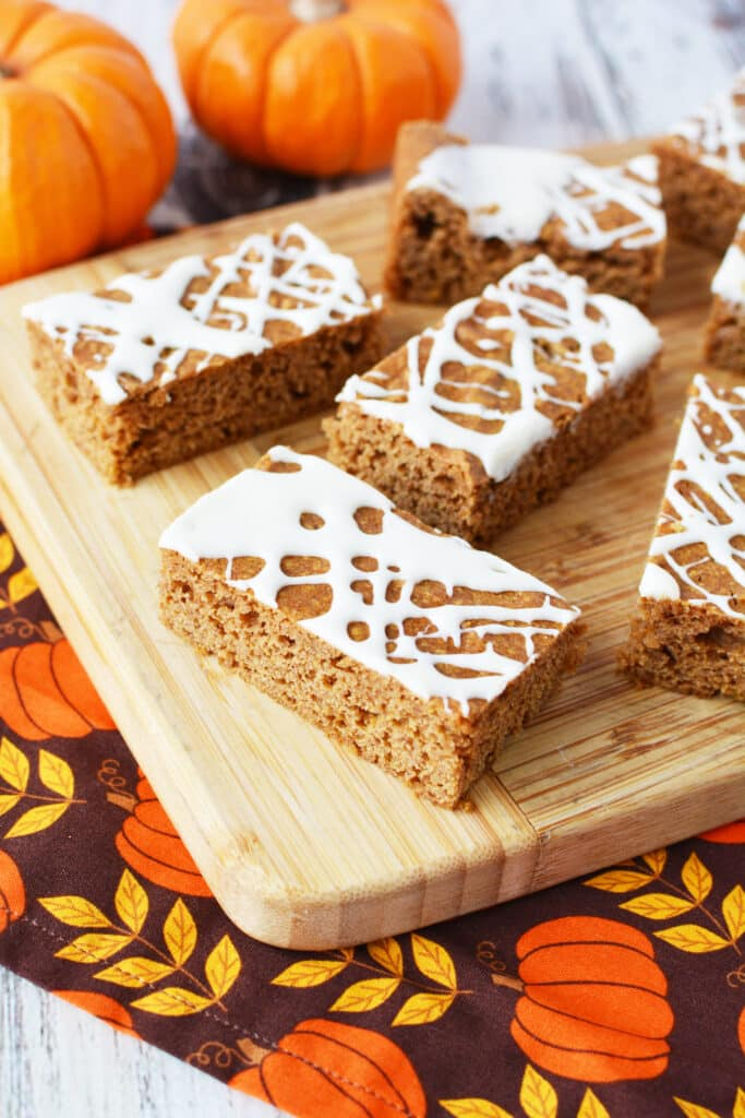 Pumpkin Spice Bars Recipe Perfect Sweet Treat Lady And