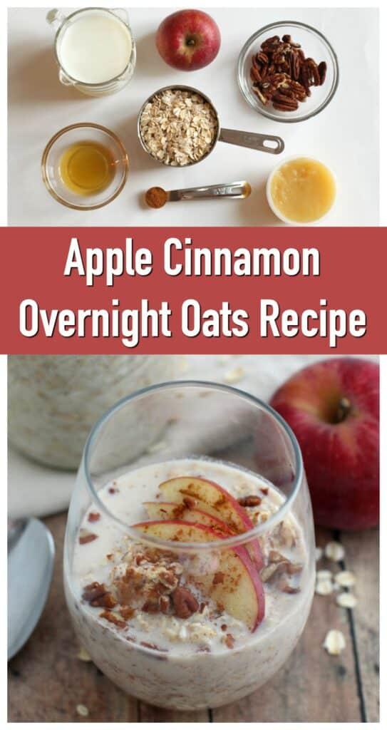 Apple Cinnamon Overnight Oats Recipe