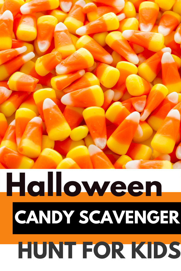 free printable halloween scavenger hunt list