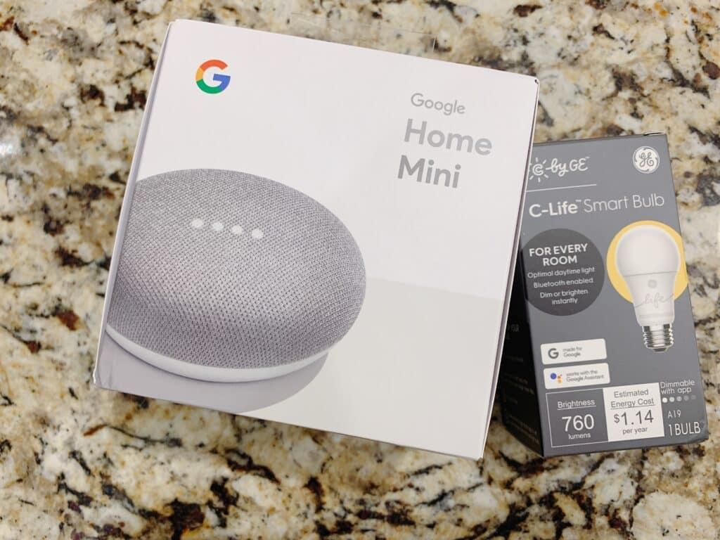 Google Smart Light Starter Kit with Google Assistant