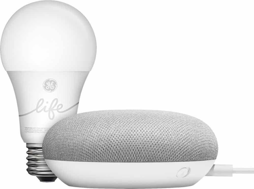 google smart light starter kit with google assistant smart home accessory lady and the blog. Black Bedroom Furniture Sets. Home Design Ideas