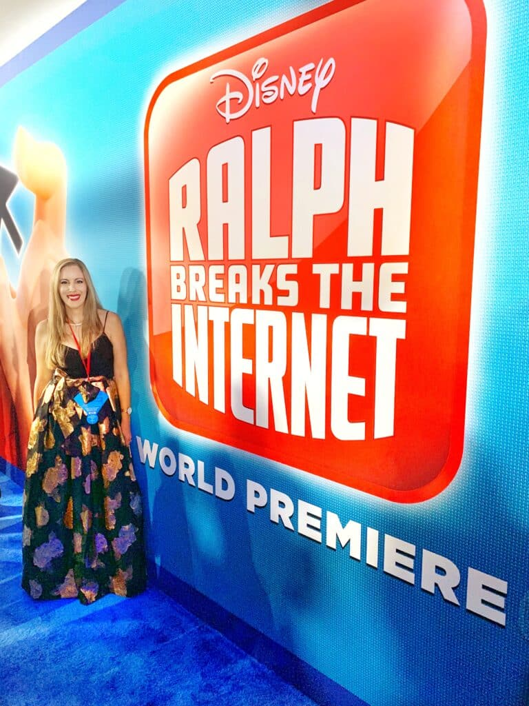 Ralph Breaks The Internet LA Movie Premiere - Disney Red Carpet Experience