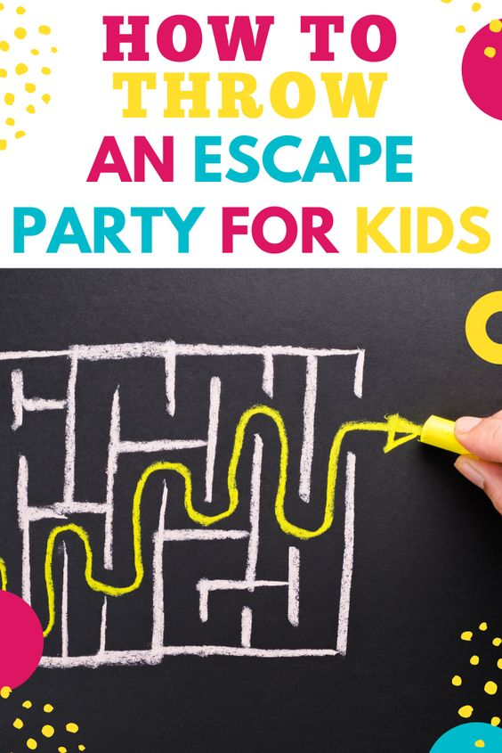 how to throw an escape room party