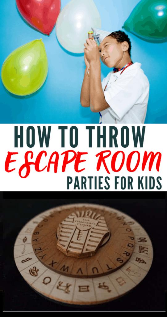 Escape Room Parties For Kids