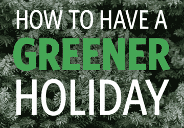 How To Have A Greener Holiday
