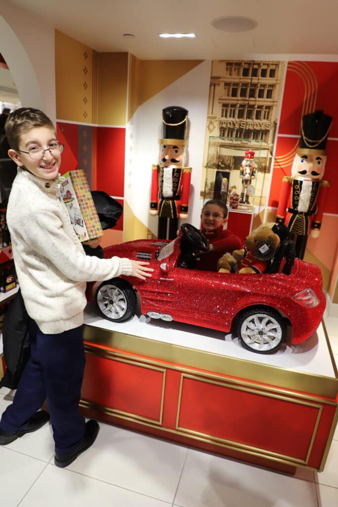 toy cars with two brothers