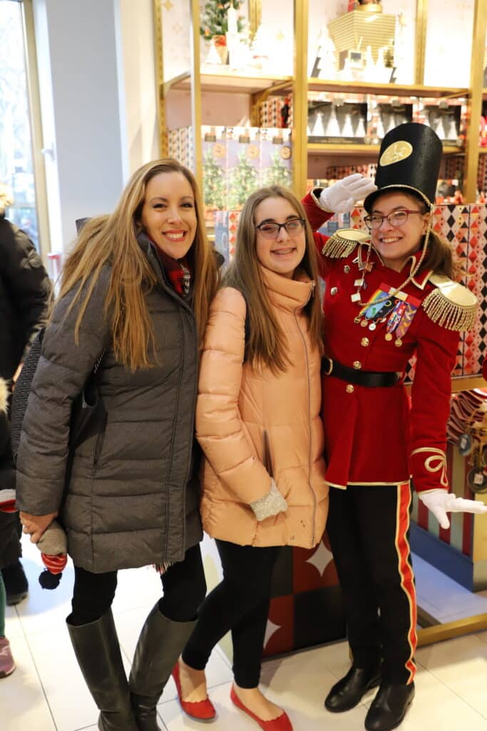 FAO Schwarz toy soldiers at Rockefeller Plaza In NYC