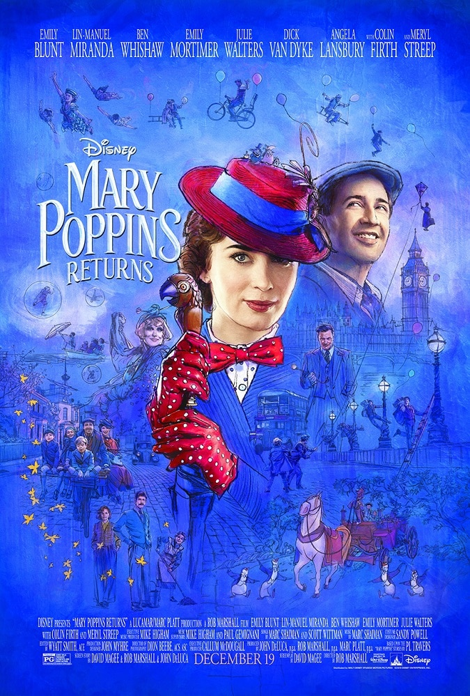 Mary Poppins Returns Movie Review #MaryPoppinsReturns