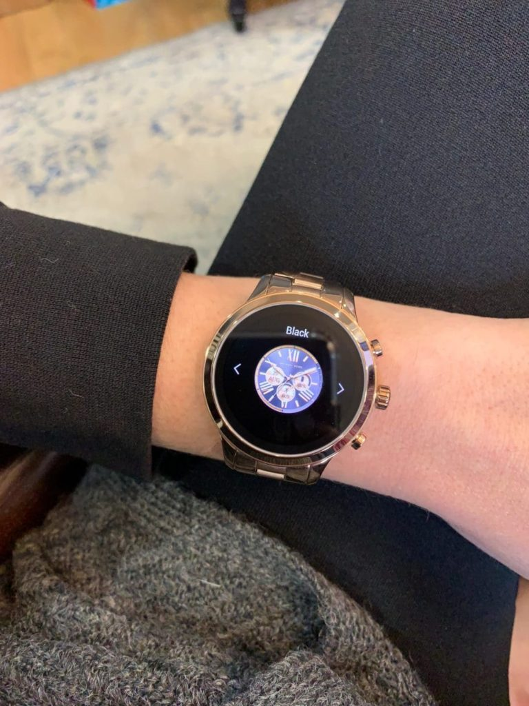Changing Faces Michael Kors Access Runway Smartwatch