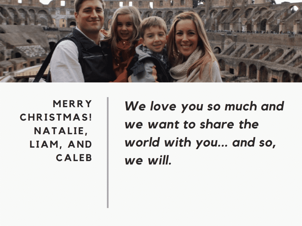How We Surprised Our Kids With A Trip To Europe On Christmas