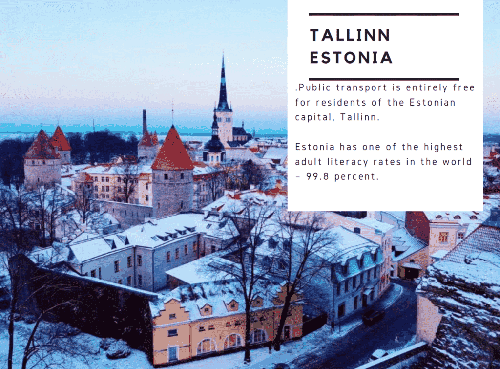Interesting Facts about Tallinn Estonia for kids