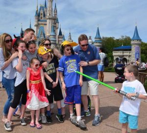 Cinderella Castle Family Photo