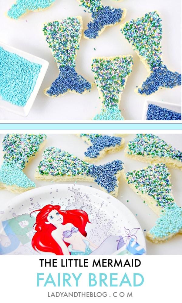 The Little Mermaid Movie Treats - Mermaid Tails