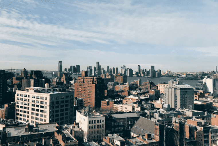 NYC Rooftop View