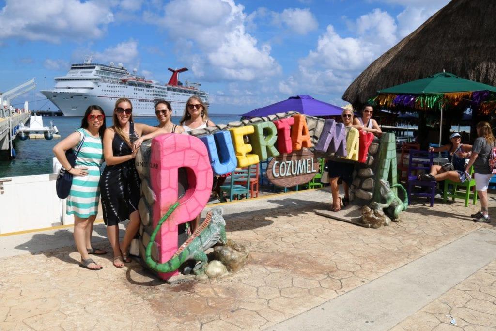 Carnival Cruise Puerta Maya Port