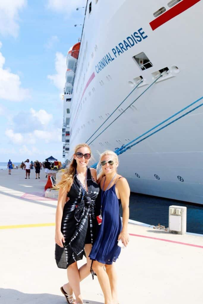 Audrey McClelland Vera Sweeney Permission to Hustle Carnival Cruise