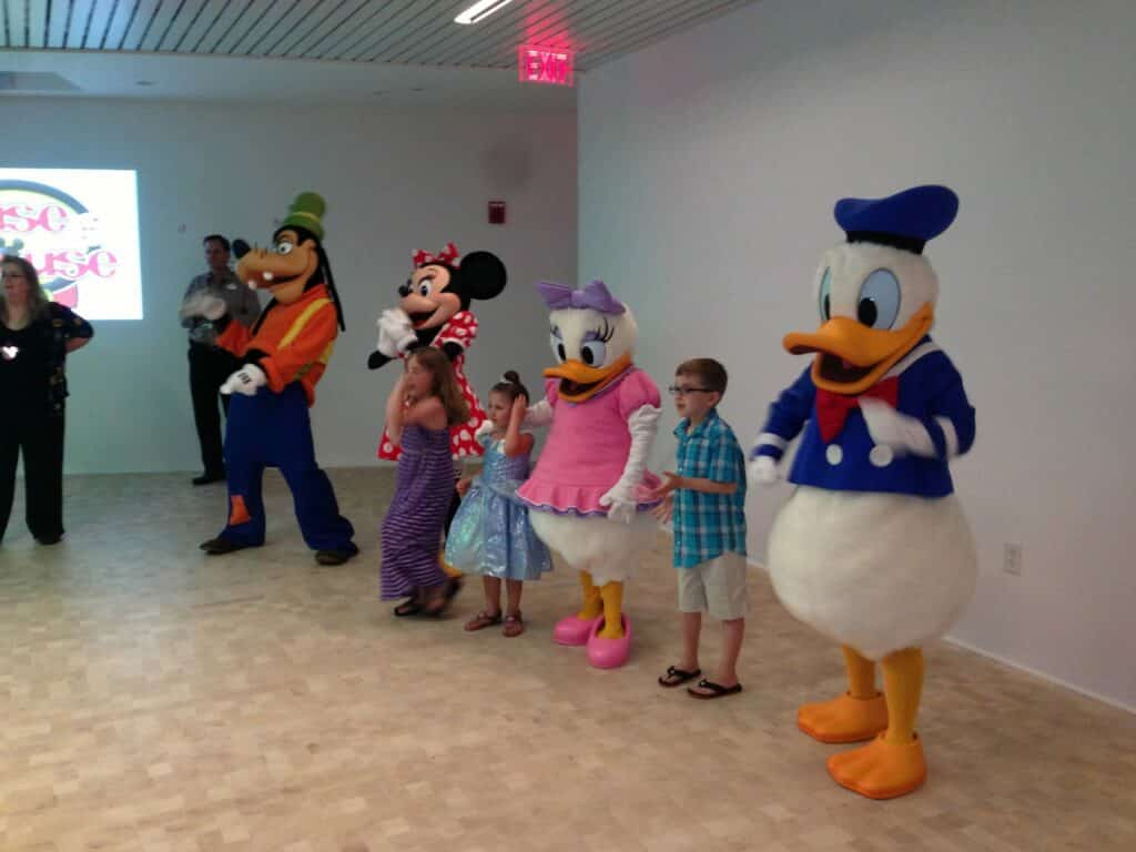 Meeting The Characters At Disney