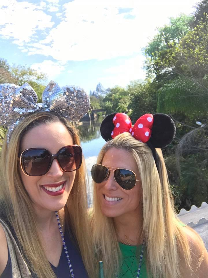 Disney World with your best friend