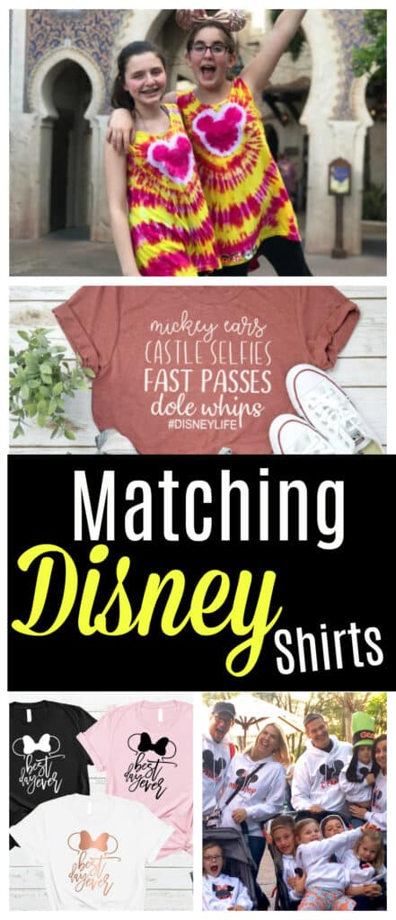 Matching Disney Shirts - 31 Disney Family Vacation Shirts