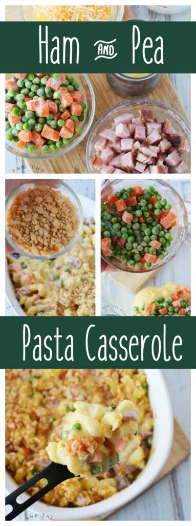Easy Ham And Cheese Pasta Casserole Recipe